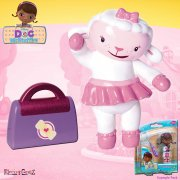 Doc McStuffins Doc and Friends Mini Figures - Lambie with Bag
