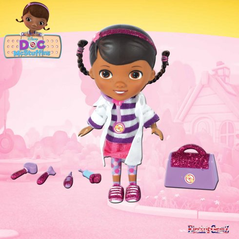 Doc McStuffins Time for a Check Up Set - White Coat