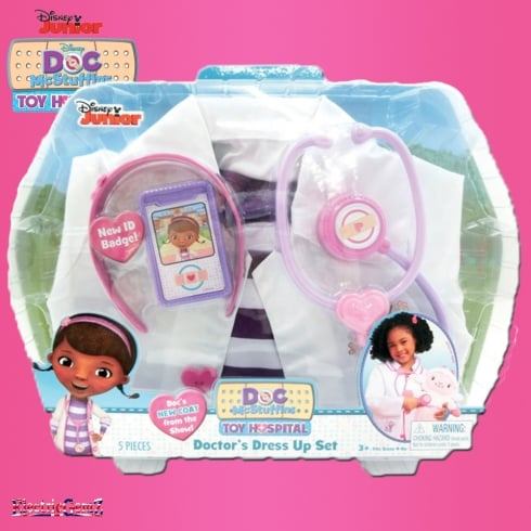 Doc McStuffins Toy Hospital Doctor's Role Play Dress Up Set