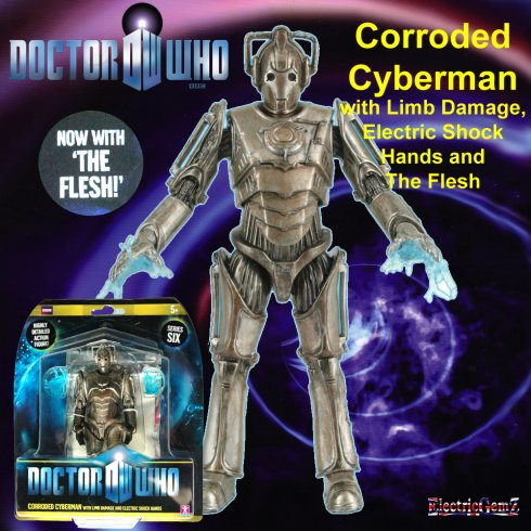 Doctor Who W2D Corroded Cyberman with Limb Damage & Flesh