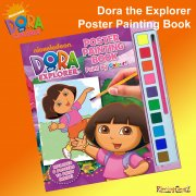 Dora the Explorer Poster Painting Book