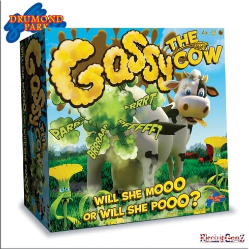 Drummond Park Games - Gassy the Cow