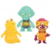 Exogini Triple Pack - Captain Parrot, Louis le Slug & Charlie Pilot