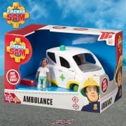 Fireman Sam Ambulance Push Along Vehicle with Nurse Helen