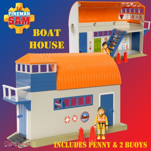 Fireman Sam Boat House Playset with Penny Figure