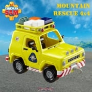 Fireman Sam Mountain Rescue 4 x 4 Push Along Vehicle