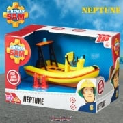 Fireman Sam Neptune Rescue Boat Push Along Vehicle
