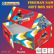 Fireman Sam Rescue 2-in-1 Jigsaw Puzzles Gift Box