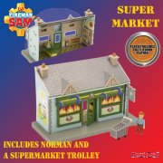 Fireman Sam Supermarket Playset with Norman Figure