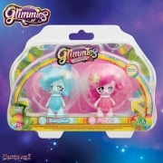 Glimmies Rainbow Friends Double Pack - Bunnybeth and Volaria