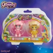 Glimmies Rainbow Friends Double Pack - Castorinda and Abella