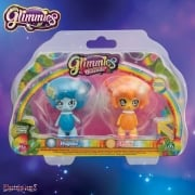 Glimmies Rainbow Friends Double Pack - Wolfelie and Linxia