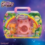 Glimmies Rainbow Friends Glimhouse Pink Trunk with Orange Glimmie