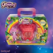 Glimmies Rainbow Friends Glimhouse Rose House with Pink Glimmie