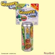 Grossery Gang Series 1 Soda Can With 4 Grosseries