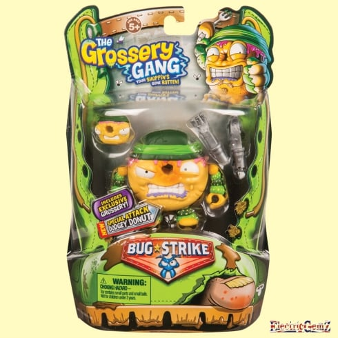Grossery Gang Series 4 Bug Strike - Special Attack Dodgey Donut