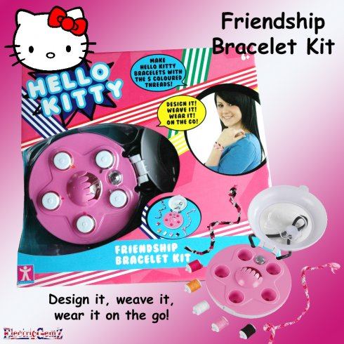 Hello Kitty Fashion to Go Friendship Bracelet Kit