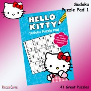 Hello Kitty Sudoku Puzzle Pad Book 1
