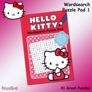 Hello Kitty Wordsearch Puzzle Pad Book 1
