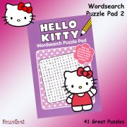 Hello Kitty Wordsearch Puzzle Pad Book 2