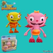 Henry Hugglemonster Summer and Ivor Figurines Twin Pack
