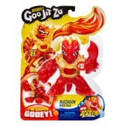 Heroes of Goo Jit Zu - Super Gooey Water Blast Attack Blazagon Hero Pack
