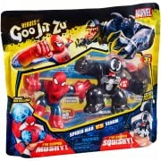 Heroes of Goo Jit Zu - Super Mushy Spider-Man vs Super Squishy Venom