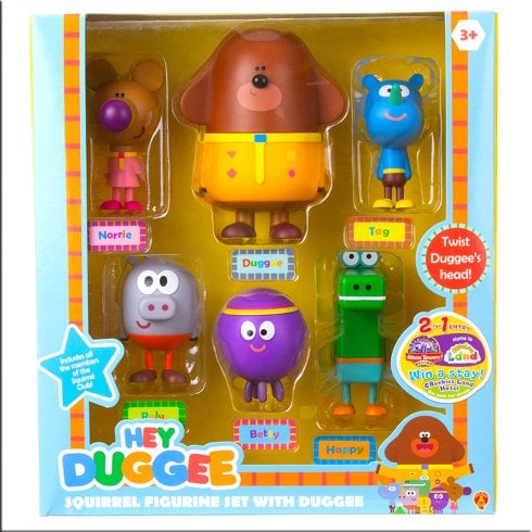 Hey Duggee 6-Piece Figurine Set