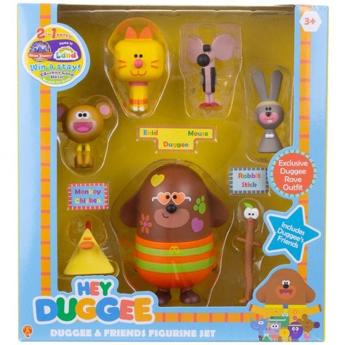 Hey Duggee - Duggee and Friends Figurine Set