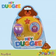 Hey Duggee Squirrel Club Figurine with Feature Badge - Betty the Octopus