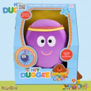 Hey Duggee Squirrel Club Soft Toys - 20cm Talking Betty the Octopus with Badge