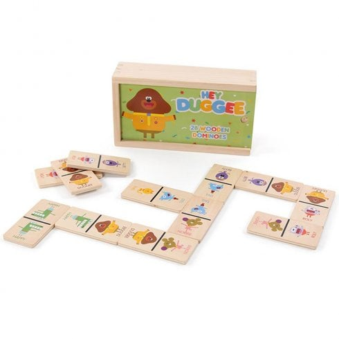 Hey Duggee Wooden Dominos