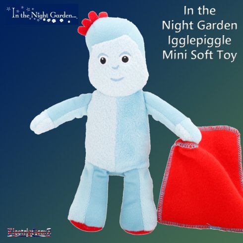 In the Night Garden Igglepiggle Mini Soft Toy