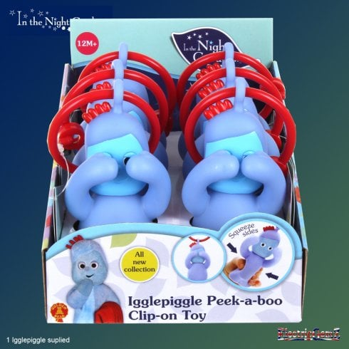In the Night Garden Peek-a-Boo Igglepiggle Clip-on Toy