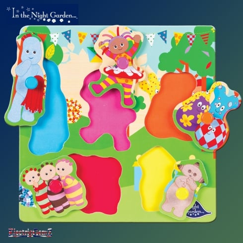 In the Night Garden Pick & Place Wooden Puzzle