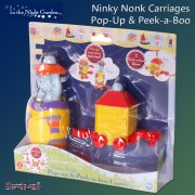 In the Night Garden Pop-Up & Peek-a-Boo Carriages