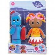 In the Night Garden Stacking Character Set - Igglepiggle & Upsy Daisy