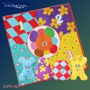 In the Night Garden Throw and Count Haahoos
