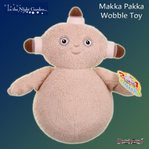 In the Night Garden Wobble Toy - Makka Pakka