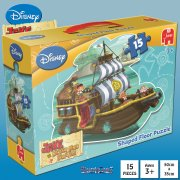 Jake and the Never Land Pirates 15-Piece Shaped Jigsaw Puzzle