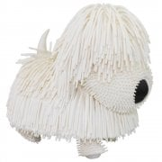 Jiggly Pets Walking Jiggling Tail Wagging Pups - White
