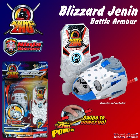 Kung Zhu Ninja Warrior Battle Armour Blizzard Jenin