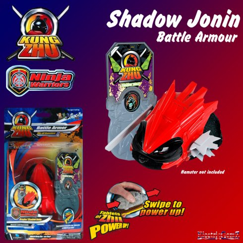 Kung Zhu Ninja Warrior Battle Armour Shadow Jonin