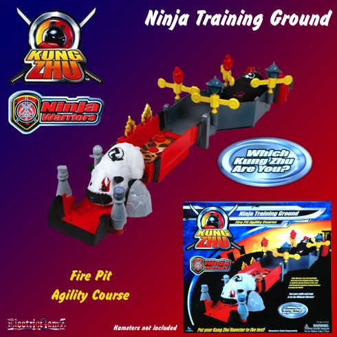 Kung Zhu Ninja Warriors Ninja Training Ground