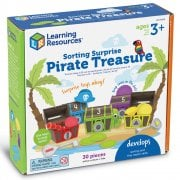 Learning Resources Sorting Surprise Pirate Treasure 30 Piece Set