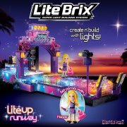 Lite Brix Lite-Up Runway Model Kit