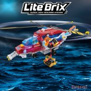 Lite Brix Rescue Copter Model Kit