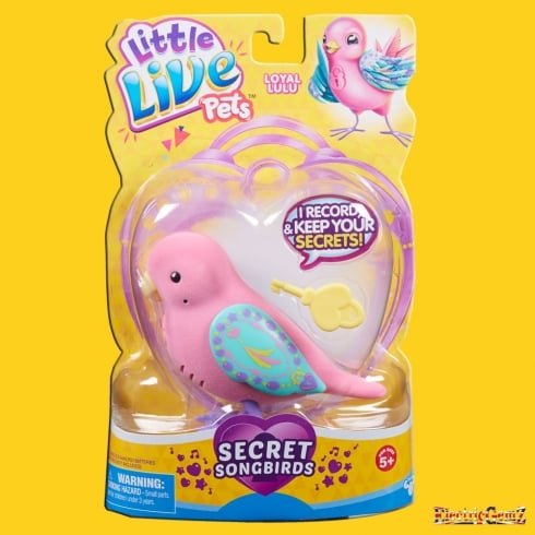 Litle Live Pets Tweet Talking Birds Series 7 Secret Songbirds - Loyal Lulu