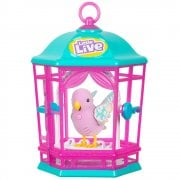 Little Live Pets Light Up Bird Cage - Rainbow Glow