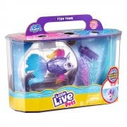 Little Live Pets Lil' Dippers Series 1 - Fishtank Playset with Unicorn Fish